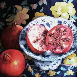 Sackville Pam  Pomegranate 2014  75x75