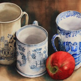 pam sackville Three Mugs 2012